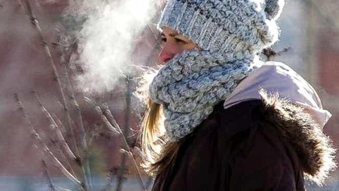 Ger arctic în România! Vor fi temperaturi de -25 de grade Celsius!