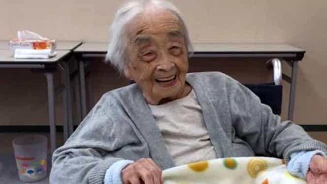 Cea mai în vârstă persoană din lume este o japoneză! Are nu mai puţin de 117 ani