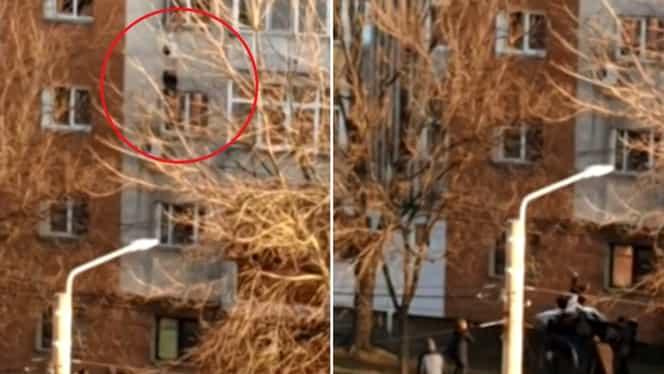 Salvare miraculoasă a unei tinere sinucigașe din Craiova! Momentul a fost transmis live pe Facebook