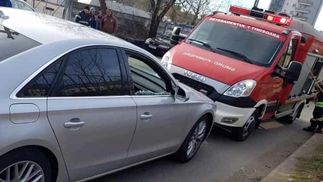 Un șofer din Timișoara a leșinat la volan de beat ce era. Cine era bărbatul oprit de polițiști