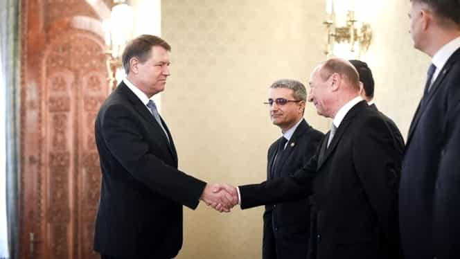 Traian Băsescu: PMP îl va susține pe Klaus Iohannis la prezidențiale