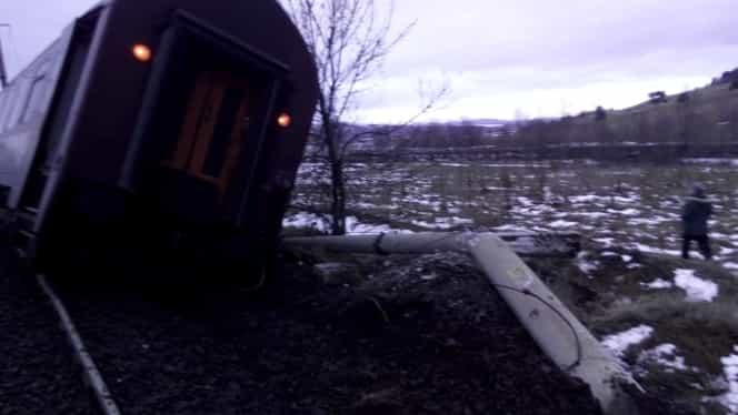 Un tren a derait! ISU este în ALERTĂ, iar planul ROȘU a fost activat