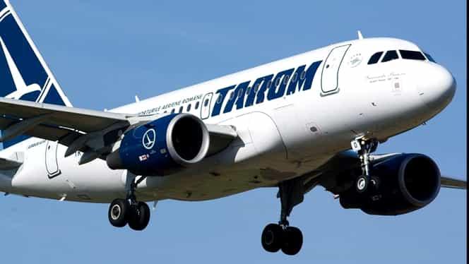 Panică la Tarom! Un avion s-a întors pe pistă din cauza unui geam fisurat