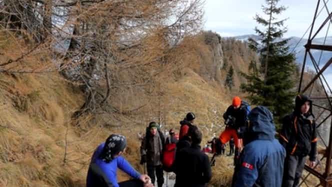 Incident GRAV în Masivul Bucegi! O turistă a căzut într-o râpă de câteva zeci de metri