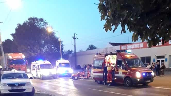 Accident grav în județul Brașov! Un copil a fost omorât în timp ce traversa neregulamentar strada