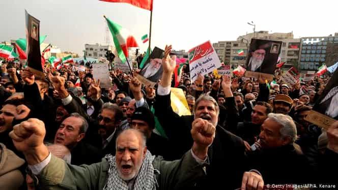 Protest înecat în sânge, în Iran! Peste 300 de oameni au fost uciși