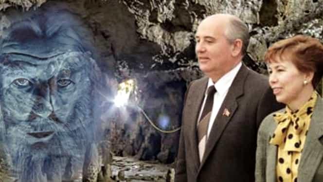 """Paranormal. Soţia lui Mihail Gorbaciov s-ar fi """"tratat"""" în peştera de la Polovragi"""