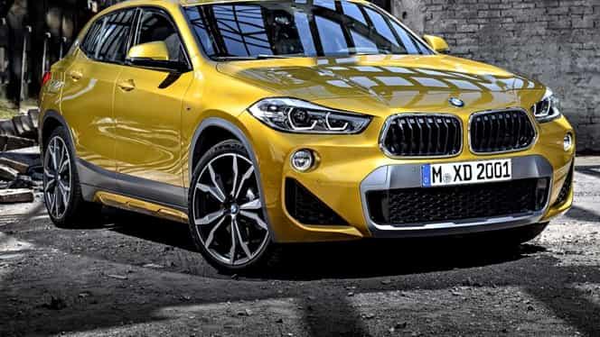 BMW a prezentat noul SUV X2 la salonul de la Detroit!