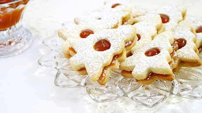 Rețetă de post pentru luni, 30 martie. Biscuiți linzer, un deliciu al bucătăriei germane