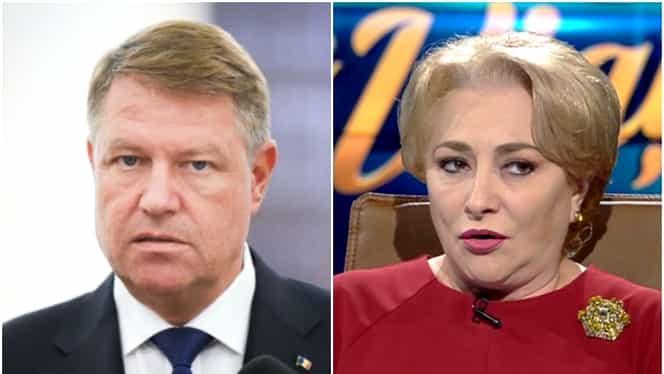 """Viorica Dăncilă a vrut să-l suspende pe președintele Klaus Iohannis! """"Merita, dar nu am mai putut"""""""