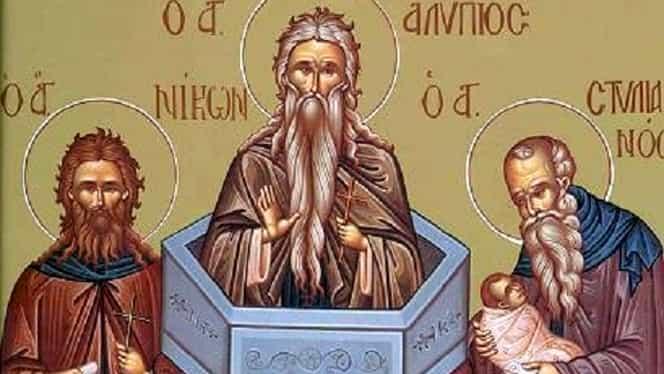 Calendar Ortodox 26 noiembrie-Preacuviosul Părinte Alipie Stâlpnicul