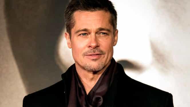 """GALERIE FOTO. Brad Pitt se iubeşte cu varianta mai tânără a Angelinei Jolie din filmul """"Maleficent"""". Cu câţi ani e mai tânără decât el!"""