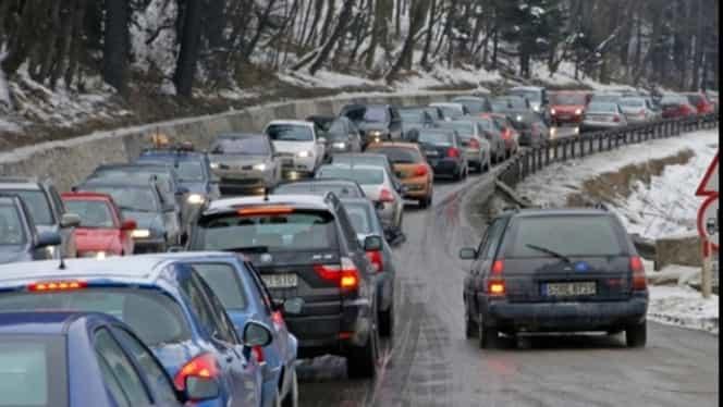 Trafic infernal pe DN1! Ce vă sfătuiește Poliția Română