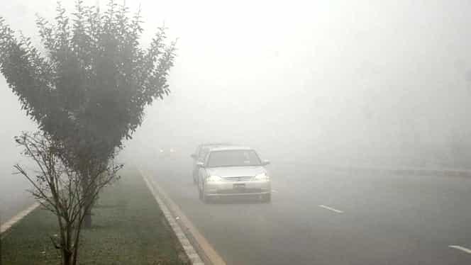 Alertă meteo de ultimă oră! Cod galben de ceață!