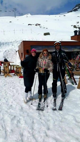 Mihaela Borcea e o împătimită a schiului, ea accidentându-se foarte rău și fiind nevoită să se opereze, în luna martie a acestui an