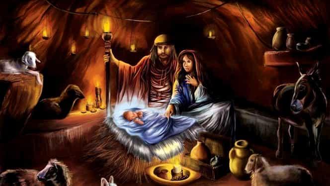 Calendar ortodox marți, 25 decembrie: Nașterea Domnului Dumnezeu