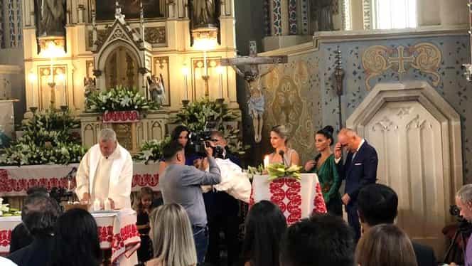 Rareș Bogdan și-a botezat fetița. Petrecere grandioasă după ceremonie