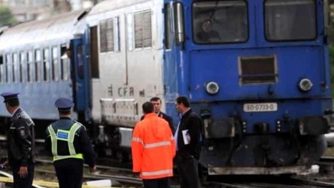 Traficul feroviar este blocat între Ploieşti şi Braşov