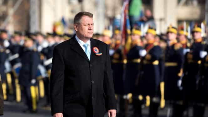 Klaus Iohannis, baie de mulțime după parada militară de 1 Decembrie!