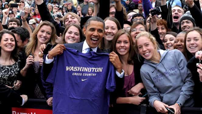 """Barack Obama şi discursul care a emoţionat o lume întreagă: """"Sunteţi mai bune ca noi, bărbaţii"""""""