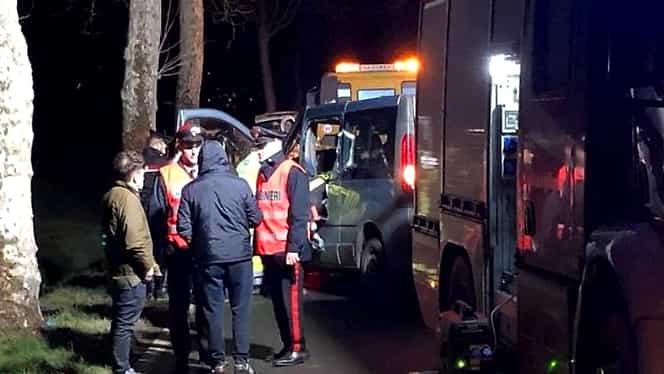 Accident mortal cauzat de o româncă în Italia. Trei persoane au decedat și alte cinci au ajuns la spital