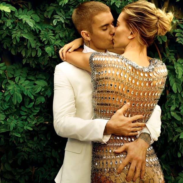 Primele imagini după căsătorie. Cum au apărut împreună Justin Bierber și Hailey Badlwin. Galerie FOTO