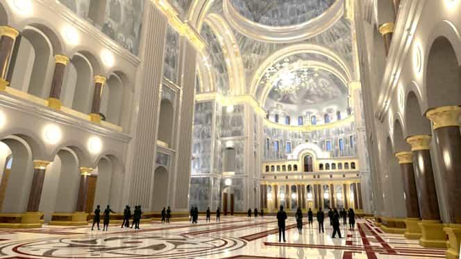 Începe sfințirea Catedralei Mântuirii Neamului! Evenimentele care au loc vineri