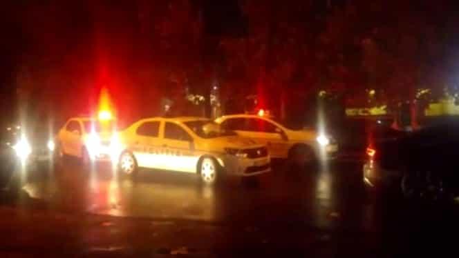 Urmărire ca-n filme în București! Un șofer beat nu a oprit nici măcar la focurile de armă trase de polițiști