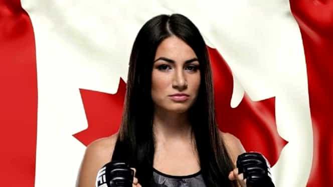 Cine e Diana Belbiță, luptătoarea care a ales să reprezinte Canada în UFC! A participat la Ferma și Exatlon