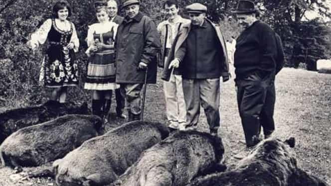 Nicolae Ceaușescu, tabietul fără de care nu putea să trăiască, după ce pleca Elena de acasă. Mergea mereu la vânătoare