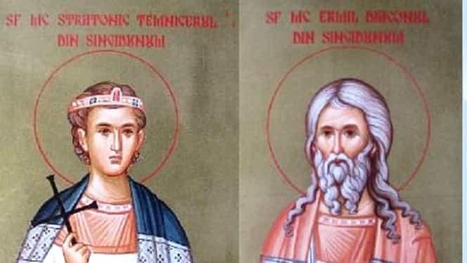 Calendar ortodox 13 ianuarie 2019: Emil și Stratonic