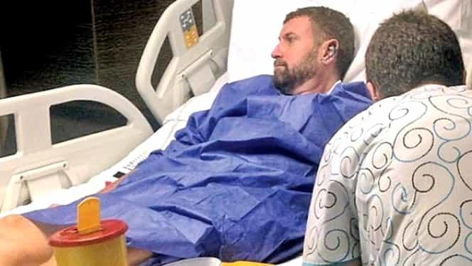 """Cătălin Botezatu, primele declaraţii după operaţie: """"Am trecut pe lângă moarte"""""""
