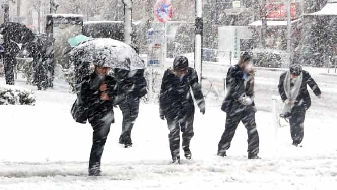 Prognoza meteo 17 decembrie. Vin ninsorile în România!