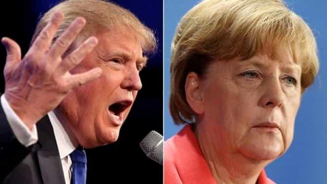 Eveniment istoric la Casa Albă! Donald Trump a refuzat să strângă mâna Angelei Merkel