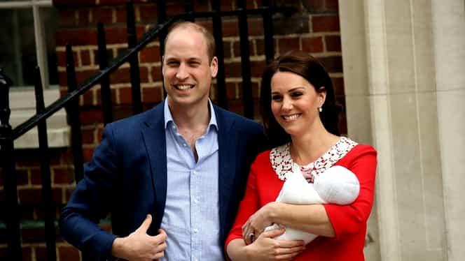 Prințul William și Kate Middleton au anunțat numele celui de-al treilea copil