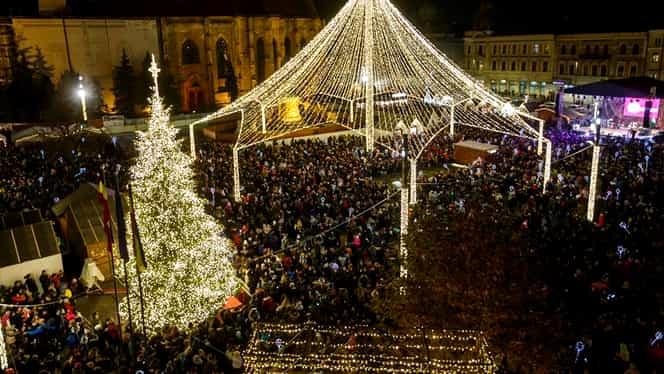 Târgul de Crăciun de la Cluj-Napoca, printre cele mai frumoase din Europa. FOTO