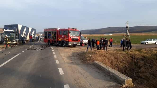 Accident rutier soldat cu opt victime în județul Vaslui! A fost activat Planul roșu de intervenție VIDEO