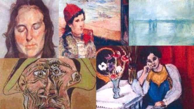 Tabloul lui Picasso, găsit la rădăcina unui copac, în Tulcea