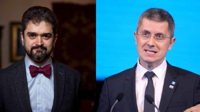 """Schimb de replici tăios între Dan Barna și Theodor Paleologu, în timpul dezbaterii Europa FM: """"Mă refer la candidații care au șanse"""". Video"""