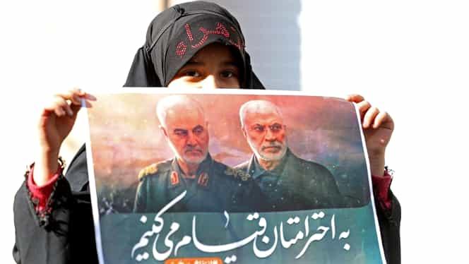 Iranul are 13 scenarii pregătite pentru SUA pentru a răzbuna moartea generalului Soleimani