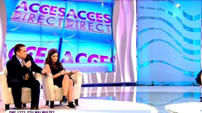 Scandal la Acces Direct! Simona Gherghe a sărit să-și apere invitata!