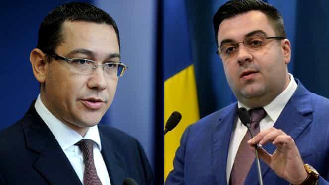 """Răzvan Cuc, răspuns dur pentru Victor Ponta: """"Vedeți că după plăcuță, se întoarce pancarta cu Monta!!!"""""""