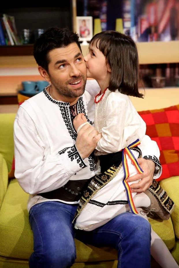 Fiica lui Alex Dima, pe urmele tatălui? Iată la ce meserie visează cea mică!