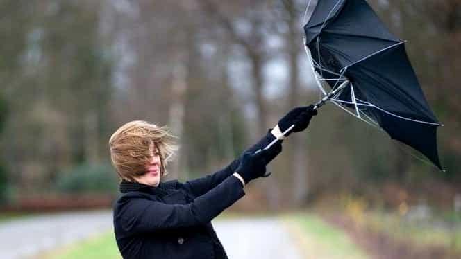 Avertizare meteorologică imediată de vânt puternic!