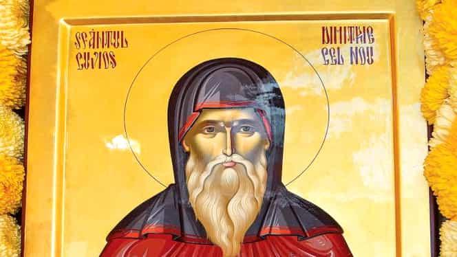 Calendar ortodox, 27 octombrie: pomenirea sfântului Dimitrie cel Nou