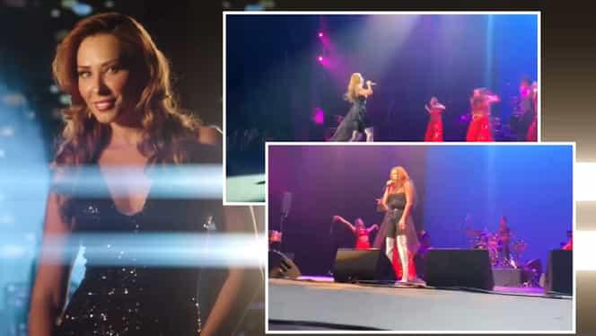 Iulia Vântur, show de zile mari la concertul din Los Angeles! Iubita lui Saman Khan a surprins pe toată lumea. Video