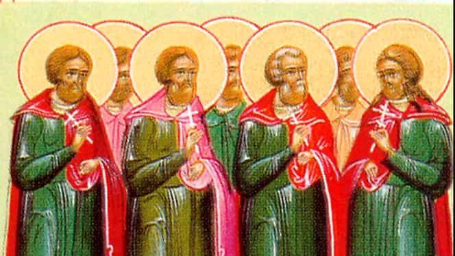 Calendar ortodox 14 decembrie: Sfinții Mucenici Tirs, Levchie și Calinic