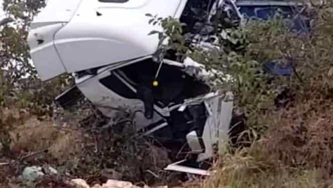 Ce a făcut șoferul de TIR care a provocat accidentul din Ialomița înainte de tragedie. Bărbatul voia să ajungă cât mai repede acasă