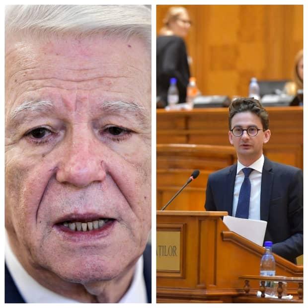 """Deputatul USR Iulian Bulai, atac frontal la Teodor Meleşcanu! """"Mi se pare puţin absurd ca dvs, comunist cu ştate vechi, să conduceţi această şedinţă în care noi celebrăm victimele, comemorăm Revoluţia"""""""