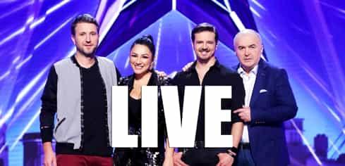 Românii au Talent la PRO TV LIVE text: Cele mai tari momente ale show-ului din 22 februarie